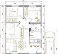 planta de casa 3 quartos 33