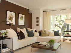 decoracion de salas en colores tierra | decoración que inspira ... - Wohnzimmer Farblich Gestalten Braun