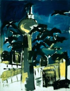 'Crows over Berlin near the sea', 1979 - Rainer Fetting (b. 1949)