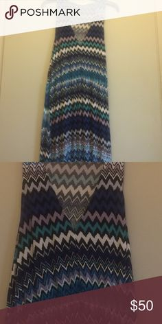 Anthropologie The Addison Story Maxi Dress This dress is size large. Excellent condition! Great colors! Great dress! Comfy! Anthropologie Dresses Maxi
