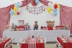 1st Birthday Carnival Theme