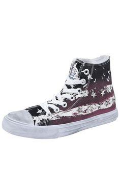 Kesän upeimmat tennarit: Full Volume by EMP Stars and Stripes Sneaker -varsitennarit. => http://www.emp.fi/art_291811/?wt_mc=sm.pin.291811.13072015