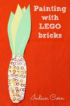 lego stamped indian corn