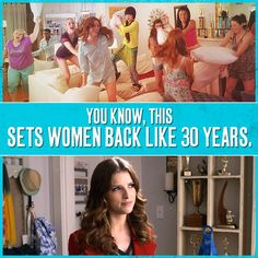 Found this online Pitch Perfect 2, Woman Back, Pillow Fight, Anna Kendrick, Film, 30 Years, Musicals, Movies, Women