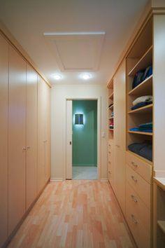 Hallway Closet Storage Design Ideas, Pictures, Remodel, and Decor