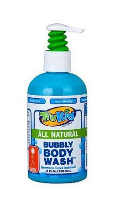 TruKid Bubbly Body Wash, 8 Fluid Ounce