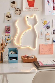 LED Cat Light - Urban Outfitters - What more to say other than we just LOVE cool stuff! Check out our store for even more COOL stuff! <3