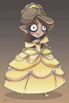 A Jennifer Vaiano é uma designer e cosplayer que mora na Florida. Ela já trabalhou na Disney e juntando isso a seu amor por Halloween, fez uns desenhos incríveis das Princesas como se fossem monstros! Elas ficaram super fofas e nada assustadoras. Eu pirei na idéia e já comecei a imaginar quais monstros seriam as outras! O que vocês acham? Ariel – Monstro do Lago Ness Branca de Neve –...