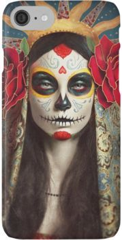 Sugar Skull Phone & Tablet Cases iPhone 7 Cases