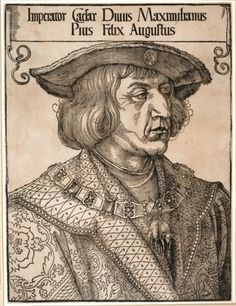 Albrecht Dürer, Emperor Maximilian I, c. woodcut, x cm x Albrecht Durer, Fine Art Prints, Canvas Prints, Framed Prints, British Museum, Kaiser Maximilian, Knight Drawing, Landsknecht, National Gallery Of Art