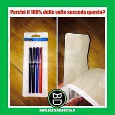 Succede sempre! Seguici su youtube/bastardidentro #bastardidentro #penne #scatola www.bastardidentro.it
