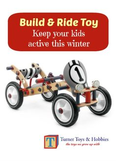 Great project for kids - build & ride a bike! A great gift from grandparents!  Build it with your grandchildren! #grandparents