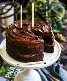 Whip up this chocolate layer birthday cake for a friend and they'll be forever grateful.