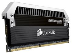 Corsair Dominator Platinum DDR3 Memory Kits — Dominator Platinum DDR3 Memory Kits and PC memory upgrades are designed with Corsair's exclusive DHX conductive and convective cooling technology