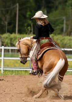 Showgirl Glitz Palomino, Cowgirl And Horse, Cowgirl Style, Country Women, Country Girls, All The Pretty Horses, Beautiful Horses, Rare Animals, Strange Animals