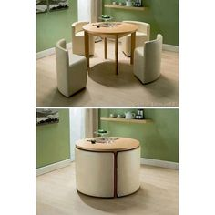 "Table for small apartments. Well, small rooms.. or even an extra for that attic room, or for teen ""conference centres""."
