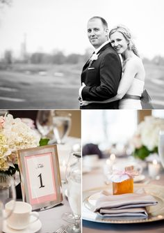 #pink #gray #wedding #bride #groom (Image by Manifesto Photography)