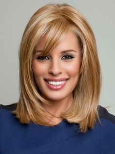 BLONDE UNICORN Beautiful Bob Wigs Human Hair Wigs with Bangs for Women Blonde *** Check out this great product. (This is an affiliate link) Bangs With Medium Hair, Short Hair Cuts, Medium Hair Styles, Short Hair Styles, Medium Bob Hairstyles, Hairstyles With Bangs, Stylish Hairstyles, Pretty Hairstyles, How To Cut Bangs