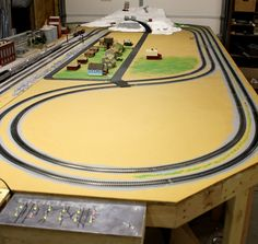 HO Scale Model Train Layouts | The above is the control/operating position week of March 3, 2011 ...