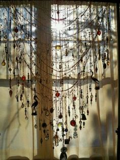 Beaded Curtain via Coffee*Soul*Wine