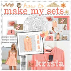 """""""How I Make My SETS! -by krista;"""" by parad1se ❤ liked on Polyvore"""
