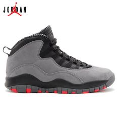 a04edc4b66d 310805-023 Air Jordan 10 Retro Cool Grey Infrared-Black Online,Jordan-