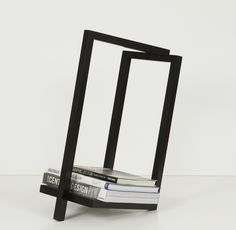 Woodi - minimal rack suitable for storing firewood, books, magazines etc.