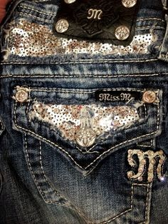 Getting some sparkly Miss Me jeans when I head out west shortly! The more sparkles, the better, hehehe.
