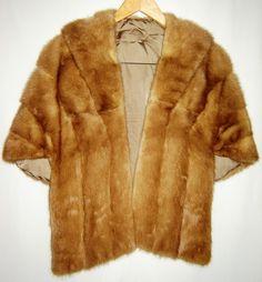 SALE Vintage Brown/Caramel Mink Fur Emba Pastel Natural Brown Mink Royal Quality Shawl Coat Jacket Warm Clothing - http://www.minkfur.net/sale-vintage-browncaramel-mink-fur-emba-pastel-natural-brown-mink-royal-quality-shawl-coat-jacket-warm-clothing.html