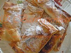 Pasteis de grão em massa de filo