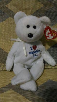 ebfead5b4c6 WASHINGTON DC the Bear (I Love Washington DC). Rose Winter · ty beanie  babies bears