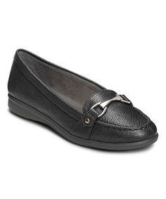 Look at this #zulilyfind! Black Time Limit Loafer #zulilyfinds