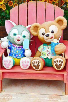 Tokyo Disney Sea, Walt Disney World, Duffy The Disney Bear, Pooh Bear, Disney Girls, Cute Pictures, Navy Exchange, Teddy Bear, Kawaii