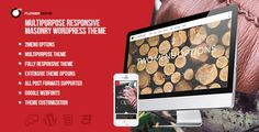 Download FlowerBomb Multipurpose Responsive Masonry WordPress Theme Free