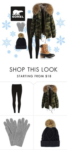 """Tame Winter with SOREL: Contest Entry"" by three-am-tea ❤ liked on Polyvore featuring SOREL, Dorothy Perkins, L.K.Bennett and sorelstyle"