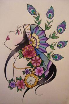 gypsy flash art
