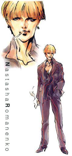 Nastasha Romanenko, Metal Gear Solid 1