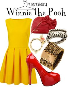 I've always wanted to be a non-skanky winnie-the-pooh..just because I'm short and fat(ter) doesnt mean I have to wear a shirt that doesnt cover my tummy and booty shorts :)