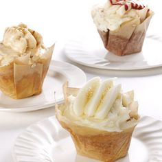 Sweet Revenge's ''Pure'' Cupcakes Recipe Desserts with unsalted butter, sugar, large eggs, self-rising cake flour, buttermilk, vanilla, demerara sugar