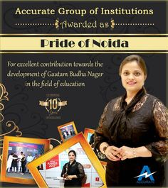 #PrideOfNoida #Accurate #ExcellenceInEducation