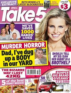 Take 5 - 8 August 2013 #magazines #magsmoveme  http://www.take5mag.com.au/