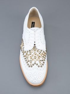 DOLCE & GABBANA - studded brogue 3