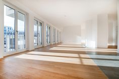 Isarvorstadt: Neubau: Moderne 5-Zimmer-Wohnung mit Kamin und großem Süd-Balkon direkt an der Isar Details: http://www.riedel-immobilien.de/objekt/2871