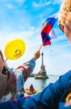 Майские праздники в Севастополе на набережной