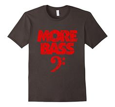 Bass t-shirts with a bass clef for bass players, musicians, bassists, e-bass and bass guitar players and instrumentalists with tuba or bassoon. If you are interested in music, musicians, bass clefs, bass quotes, classical music, jazz, musical symbols, bassist, bassists, bass guitar player, tubaist, double bass, contra bass, orchestra, you might like this shirt. The distressed imprint gives your shirt a nice 'used look' appearance.