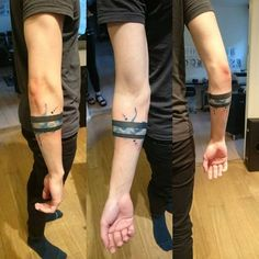 black band tattoo - Google Search More