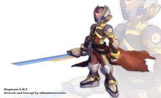 Megaman+U.M.X+by+ultimatemaverickx.deviantart.com+on+@deviantART
