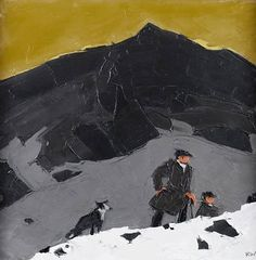 Find artworks by Sir Kyffin Williams (British, 1918 - on MutualArt and find more works from galleries, museums and auction houses worldwide. Kyffin Williams, 2d Design, Impressionist Paintings, Welsh, Illustrators, Artists, Fine Art, Farmers, Figurative