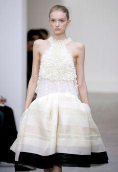 INSPIRATION: what i would wear to my second wedding :Balenciaga Spring/Summer 2006