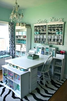 Craft room organization. i will have this in my home :)